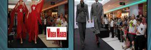 AVM'de Atatürk kostümleri defilesi