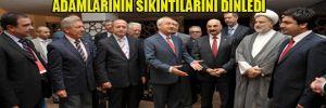 Kılıçdaroğlu Irak'taki Türk iş adamlarının sıkıntılarını dinledi