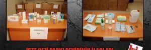 İşte Gezi Parkı revirinin ilaçları