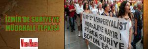 İzmir'de Suriye'ye müdahale tepkisi