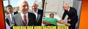 Haberal'dan Kore gazisine destek
