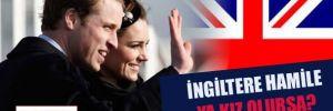 İngiltere hamile: Ya kız olursa?