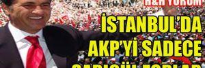 İstanbul'da AKP'yi sadece Sarıgül zorlar