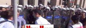 İstanbul'da KESK üyelerine polisten sert müdahale