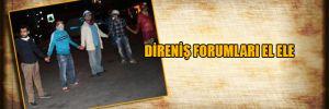 Direniş forumları el ele