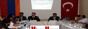 Türk ve Ermeni işadamları Van'da buluştu