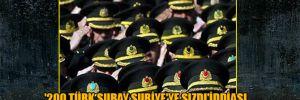 '200 Türk subay Suriye'ye sızdı' iddiası
