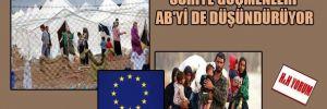 Suriye göçmenleri AB'yi de düşündürüyor