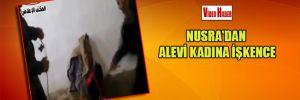 Nusra'dan Alevi kadına işkence
