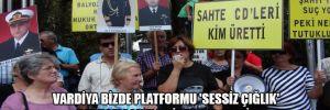 Vardiya Bizde Platformu 'Sessiz Çığlık' buluşmasında bir araya geldi