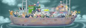 Gezi Karikatürleri sergisine jet soruşturma
