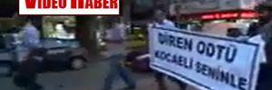 Kocaeli'nde ODTÜ'ye destek yürüyüşü