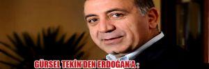 Gürsel Tekin'den Erdoğan'a: 'Yoksulluğu rant kapısı görüyor'