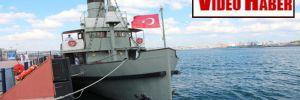 Nusret mayın gemisi İstanbul'da ziyaretçilerini bekliyor