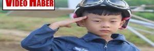 Dünyanın en genç pilotu 5 yaşındaki Çin'li