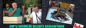 CHP'li Susurluk Belediye Başkanı'ndan anlamlı mesaj!