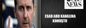 Esad ABD kanalına konuştu