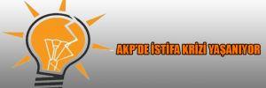 AKP'de istifa krizi yaşanıyor