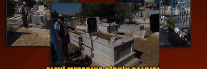 Alevi mezarına çirkin saldırı