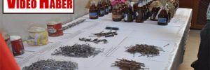 Cizre'de el yapımı patlayıcı ve molotof ele geçirildi