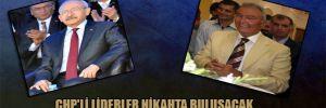 CHP'li liderler nikahta buluşacak