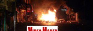 Hatay'daki protestolar gece de devam etti