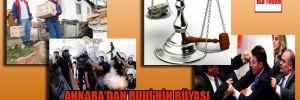 Ankara'dan Ruhi'nin rüyası
