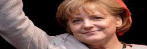 Sandıktan Angela Merkel çıktı