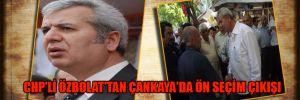 CHP'li Özbolat'tan Çankaya'da ön seçim çıkışı