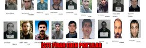 İşte firar eden PKK'lılar