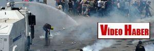 Taksim'de polis müdahalesi