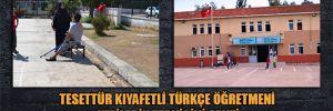 Tesettür kıyafetli Türkçe öğretmeni velilerin tepkisini çekti
