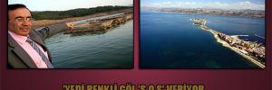 'Yedi renkli göl 'S.O.S' veriyor