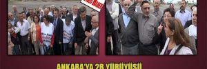 Ankara'ya 2B yürüyüşü