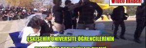 Eskişehir Üniversite öğrencilerinin 'kampüste toplu nikah' eylemi
