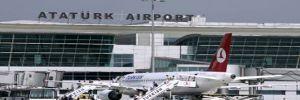 Atatürk Havalimanı'nda şüpheli paket fünye ile patlatıldı