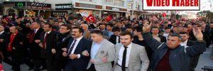 Bolu'da Ülkücülerden 'şahlanış' yürüyüşü