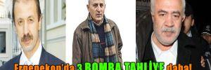 Ergenekon'da 3 bomba tahliye daha!