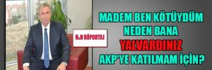 Mansur Yavaş: Madem ben kötüydüm neden bana yalvardınız AKP'ye katılmam için?
