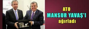ATO Mansur Yavaş'ı ağırladı