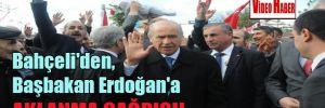 Bahçeli'den, Başbakan Erdoğan'a aklanma çağrısı!