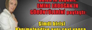 Gülen'in avukatı, Emine Erdoğan'ın görüntülerini paylaştı: Şimdi birisi Hanımefendiye aynı şeyi yapsa…