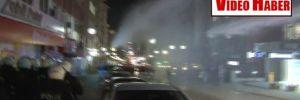 Ankara'da gazsız müdahale!