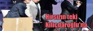 Hırsızın teki Kılıçdaroğlu'na ayakkabı fırlattı!