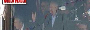 Kılıçdaroğlu 'bozkurt' işareti yaptı!