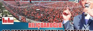 Kılıçdaroğlu: 140 karakterden korkan Başbakan! İzmir'de Kılıçdaroğlu izdihamı