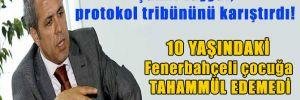 Şamil Tayyar, protokol tribününü karıştırdı! 10 yaşındaki Fenerbahçeli çocuğa tahammül edemedi