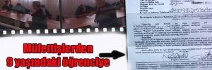 Müfettişlerden 9 yaşındaki öğrenciye skandal sorgu!