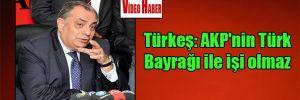 Türkeş: AKP'nin Türk Bayrağı ile işi olmaz