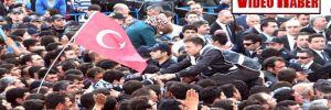 Urfa'da Erdoğan'a yumurtalı protesto